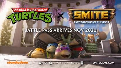 Smite - TMNT Battle Pass