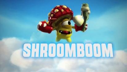 Skylanders Giants - conoce a los skylanders: Shroomboom Trailer