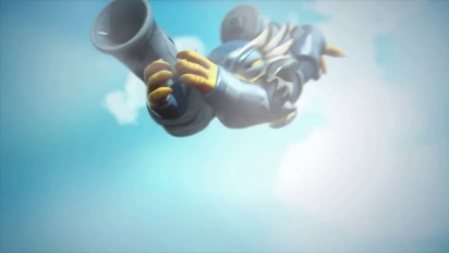 Skylanders Giants - conoce a los skylanders: Light Core Jet-Vac Trailer