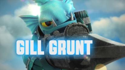 Skylanders Giants - conoce a los skylanders: Gill Grunt Trailer