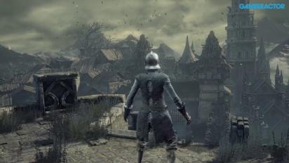 Dark Souls III - Gameplay Xbox One - Llegando al asentamiento de los no muertos