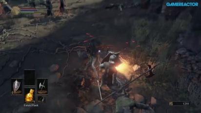 Dark Souls III - Gameplay Xbox One - Asentamiento de no muertos B