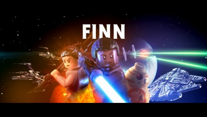 Lego Star Wars: El Despertar de la Fuerza - Tráiler español de Finn