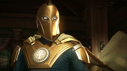 Injustice 2 - Dr. Fate Gameplay Trailer