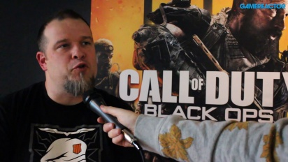 Call of Duty: Black Ops 4 (PC) - Entrevista a Thomas Wilson