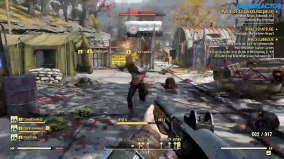 Fallout 76 - Gameplay del evento Collision Course