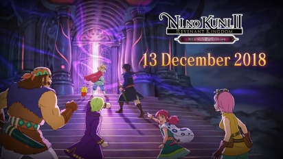 Ni no Kuni II: Revenant Kingdom - The Lair of the Lost Lord Trailer