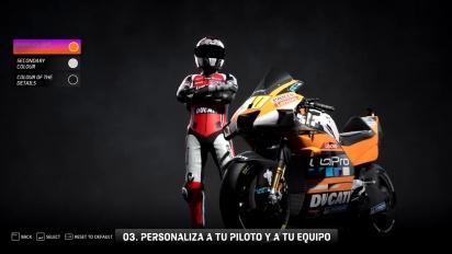 MotoGP 20 - Modo Carrera de Manager