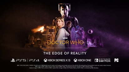 Doctor Who: The Edge of Reality - Release Date Announcement Trailer