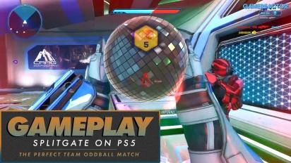 Splitgate (PS5) - Partida perfecta en Bola Loca