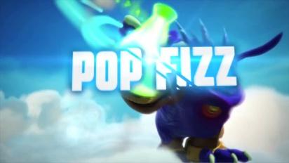 Skylanders Giants - conoce a los skylanders: Pop Fizz Trailer