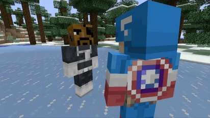 Minecraft - Avengers DLC Trailer