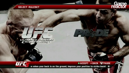 UFC Undisputed 3 - primeros 10 minutos Pride Mode