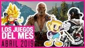 Los juegos del mes: Abril de 2019