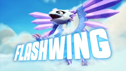 Skylanders Giants - conoce a los skylanders: Flashwing Trailer