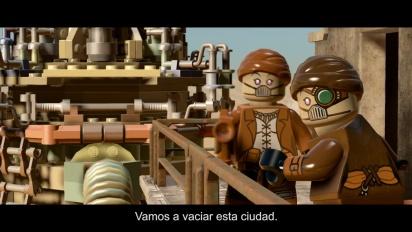 Lego Star Wars: El Despertar de la Fuerza - Tráiler español Lucha por la supervivencia de Poe