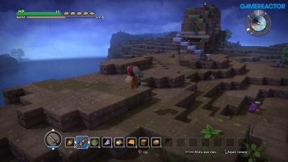 Dragon Quest Builders - Gameplay de exploración
