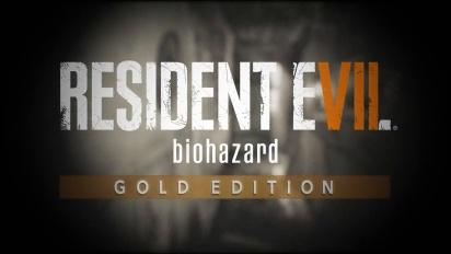 Resident Evil 7: Biohazard Gold Edition Announcement Trailer