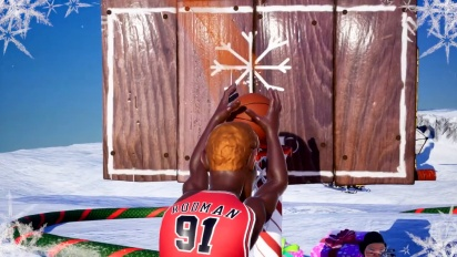NBA 2K Playgrounds 2 - Christmas Trailer