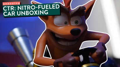 Crash Team Racing: Nitro-Fueled - Unboxing de la figura