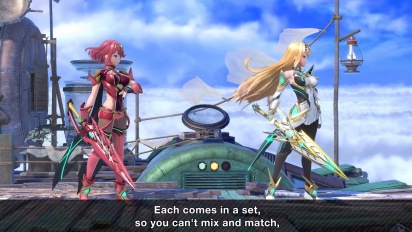 Super Smash Bros. Ultimate - Mr. Sakurai Presents Pyra/Mythra