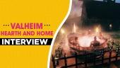 Valheim Hearth and Home - Entrevista con Robin Ayre y Lisa Kolfjord