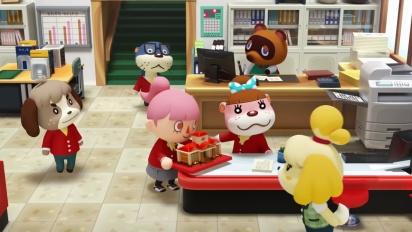 Animal Crossing: Happy Home Designer - Tráiler de diseñar edificios públicos