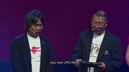 Super Mario Maker - Miyamoto y Tezuka juegan al desafío Pac-Mario de Michel Ancel