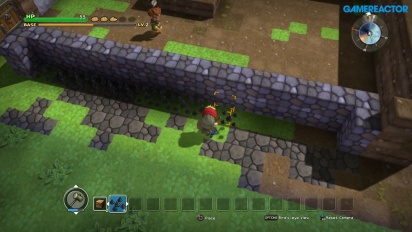 Dragon Quest Builders - Gameplay de construcción