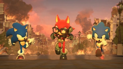 Sonic Forces - Custom Character Trailer