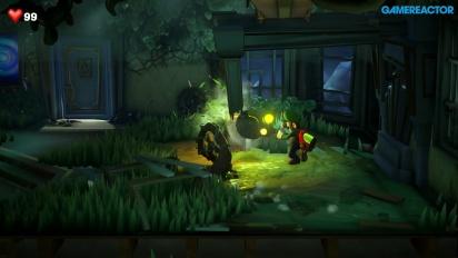 Luigi's Mansion 3 - Gameplay con la motosierra
