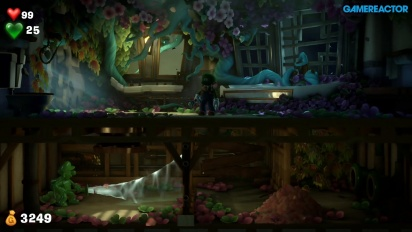 Luigi's Mansion 3 - Gameplay de combate y un puzle con Gomiluigi
