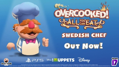 Overcooked! All You Can Eat - Swedish Chef Character Trailer