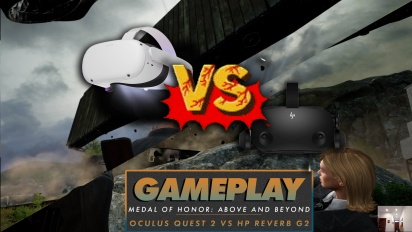 Medal of Honor: Above and Beyond - Comparación Gráfica HP Reverb G2 vs Oculus Quest 2