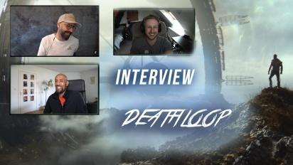 Deathloop - Entrevista con Dinga Bakaba y Sébastien Mitton