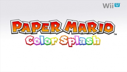 Paper Mario - Color Splash Reveal