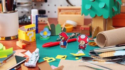 Paper Mario: Color Splash - Tomas Descartadas