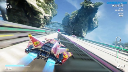 Fast RMX - Gameplay de Cameron Crest en Nintendo Switch