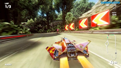Fast RMX - Gameplay de Kenshu Jungle en Nintendo Switch