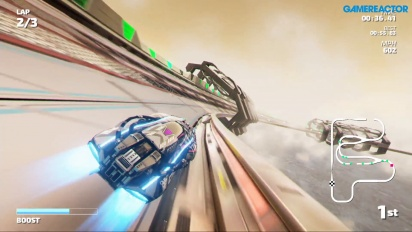 Fast RMX - Gameplay de The Haze en Nintendo Switch