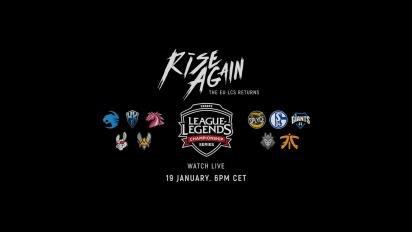 League of Legends - EU LCS Spring 2018 - Rise Again Trailer