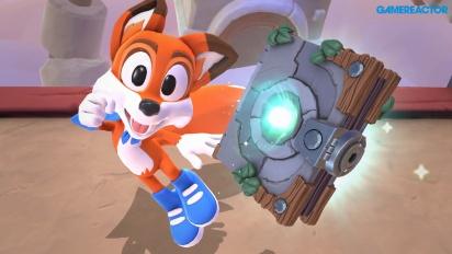 New Super Lucky's Tale - Gameplay de la Demo Completa