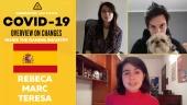 Gamereactor frente al Coronavirus: Teresa, Marc (con Vito) y Rebeca desde España