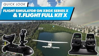 Microsoft Flight Simulator en Xbox Series X con el T.Flight Full Kit X - El Vistazo