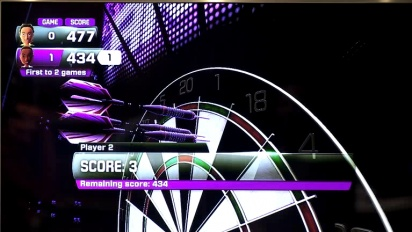 Kinect Sports Season 2 - Darts Promo Trailer