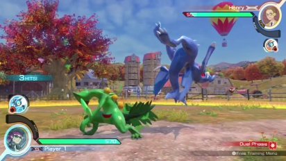 Pokkén Tournament - Combo Video