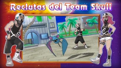 Pokémon Sol/Luna - Tráiler español Team Skull y nuevos pokémon