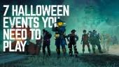 7 eventos de Halloween que debes jugar