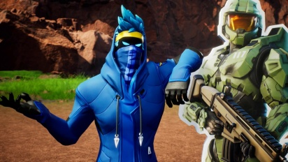 Fortnite - Red vs. Blue introduce Creative Map 'New Blood Gulch' Trailer