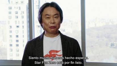 Star Fox Zero - Palabras de Shigeru Miyamoto